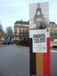 Photo de l'exposition 150 ans d'immigrations pour la ville de paris