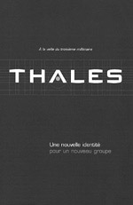 Couverture film institutionnel Thales
